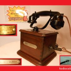 Teléfonos: TELÉFONO ERICSSON MODELO MARTY 1923 FUE OBJETO DE PELÍCULAS (LOCATEMA) RESTAURADO FUNCIONA. Lote 142820102