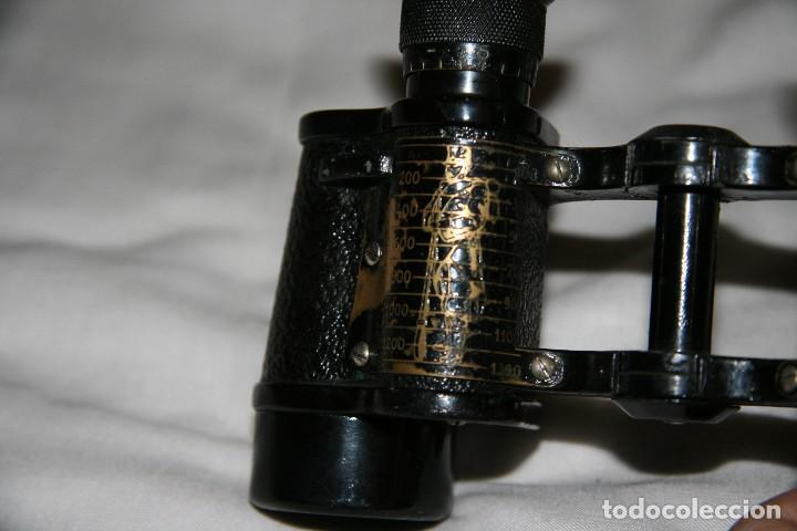 Antigüedades: prismaticos carl zeiss jena nedinsco - Foto 2 - 142832022