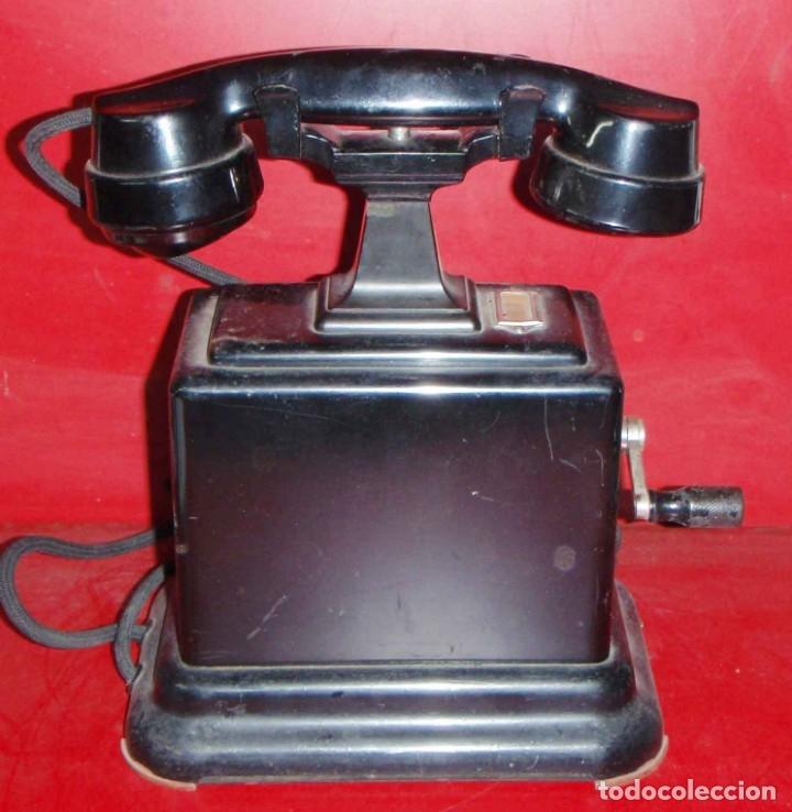 Teléfonos: TELEFONO DE CONSOLA ANTIGUO - Foto 3 - 47090372