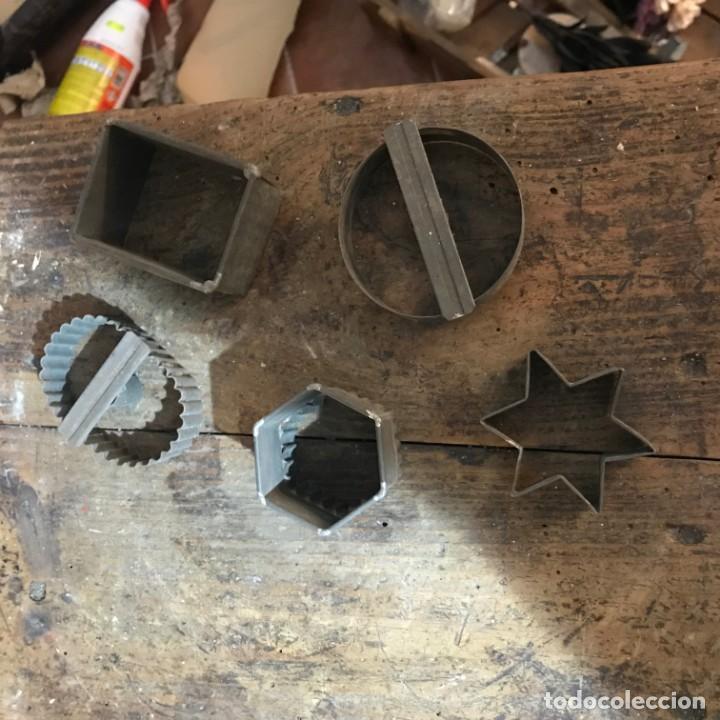 Antigüedades: Lote moldes galletas y pasteleria - Foto 10 - 142954734