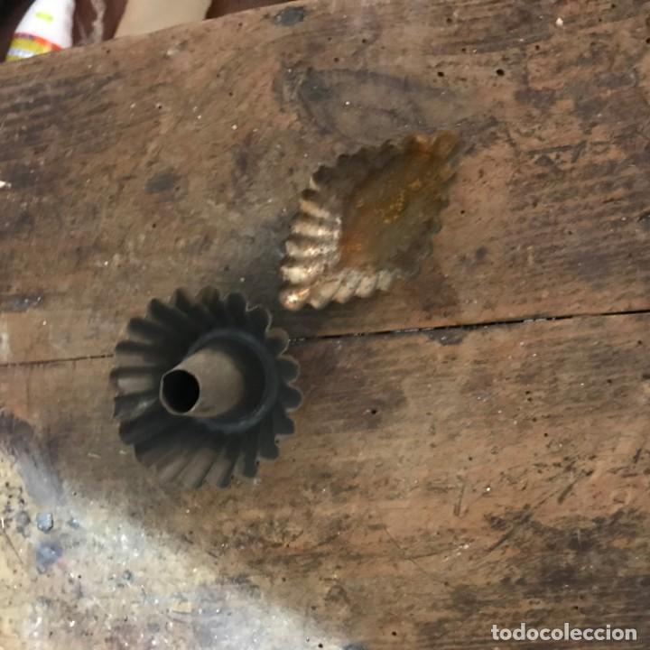Antigüedades: Lote moldes galletas y pasteleria - Foto 16 - 142954734
