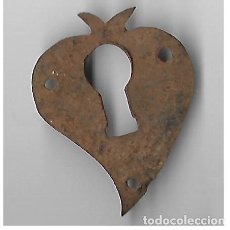 Antigüedades: BOCALLAVE PAQUEÑA ANTIGUA SIGLO XIX. Lote 142970222