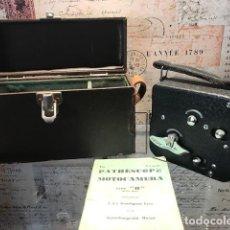 Antigüedades: CAMARA DE CINE A CUERDA PATHESCOPE H 9,5MM. AÑO 1931.. Lote 143001070