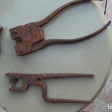 Antigüedades: HERRAMIENTAS DE TALABARTERO. Lote 143008734