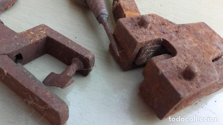 Antigüedades: Herramientas de talabartero - Foto 2 - 143008734