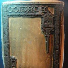 Antigüedades: TROQUEL PLANCHA DE IMPRENTA - PORTICO. Lote 143024034