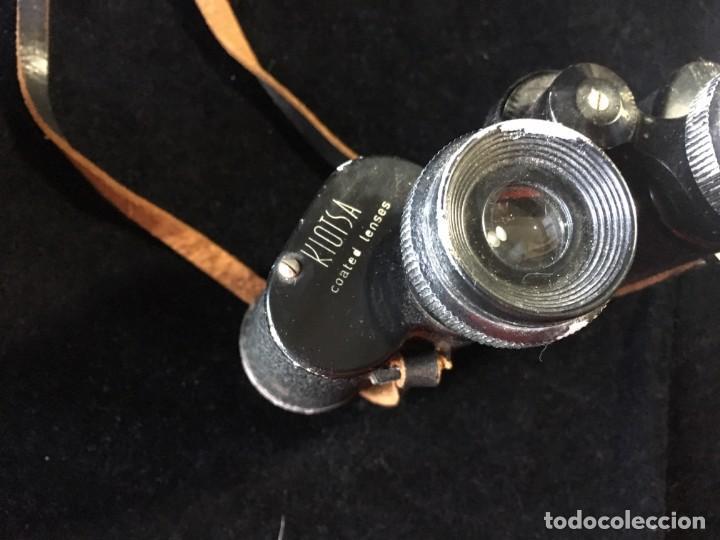 Antigüedades: Prismaticos Kiotsa 8 x 30 años 60. . - Foto 3 - 143135006