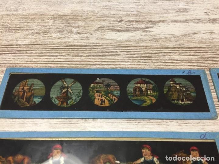 Antigüedades: PLACAS CRISTAL - CRISTALES PELÍCULA COLOR LINTERNA MÁGICA COLOR - Foto 4 - 143181846