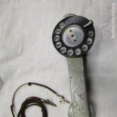 Teléfonos: TELEFONO DE OPERARIO TECTICO, COMPROBACION LINEAS - HACIA 1960, ALUMINIO 670GR + INFO FOTOS 1S. Lote 143188766