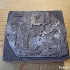 Antigüedades: ANTIGUA PLANCHA IMPRESION SEÑORAS. Lote 143258122