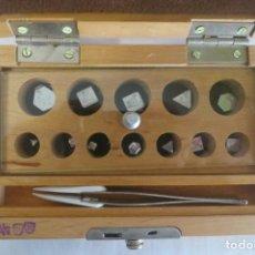 Antiques - caja de pesas en miligramos - 143276178