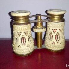 Antigüedades: GEMELOS, BINOCULARES DE TEATRO, MARFIL.. Lote 143310902