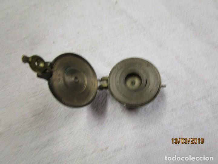 Antigüedades: JUEGO DE PONDERALES ANIDADOS, EN BRONCE, PESO METALES PRECIOSOS, FINALES XIX +INFO Y FOTOS 1s - Foto 3 - 143313850