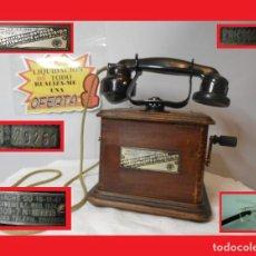 Teléfonos: TELÉFONO ERICSSON MODELO MARTY 1923 FUE OBJETO DE PELÍCULAS (LOCATEMA) RESTAURADO FUNCIONA. Lote 143336382