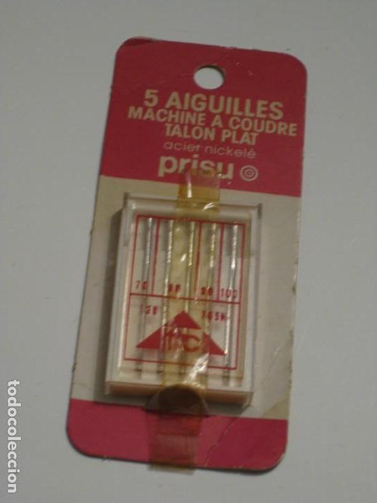 Antigüedades: Paquete con 5 agujas para maquina de coser.Sin uso. - Foto 5 - 143474794