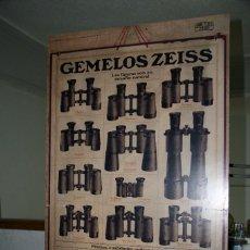 Antigüedades: CARTEL CARL ZEISS JENA PUBLICIDAD. Lote 143542842
