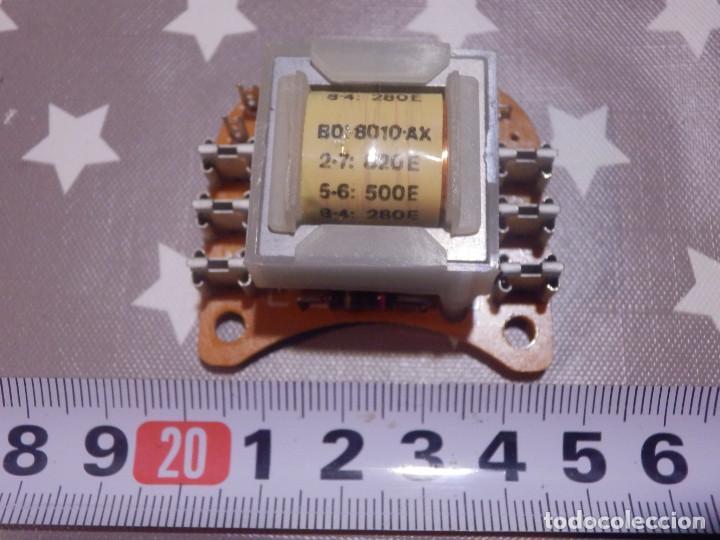 ANTIGUO REPUESTO - PLACA TRANSFORMADOR PARA TIMBRE - ORIGINAL - TELEFONICA - (Antigüedades - Técnicas - Teléfonos Antiguos)