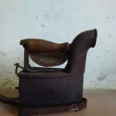 Antigüedades: PLANCHA DE CARBON EN BUEN ESTADO. Lote 143685802