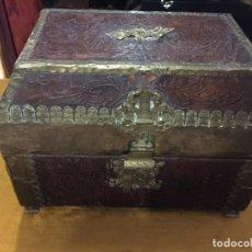 Antigüedades: BONITO COFRE O JOYERO SIGLO XIX. Lote 143708822