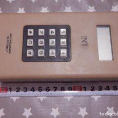 Teléfonos: MULTIPROBADOR TEFÓNICO PORTATIL - CELADOR - INTERISA - PARA TÉCNICO TELEFÓNICA. Lote 143829794