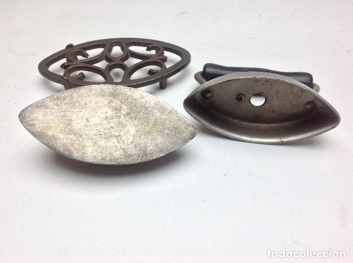 Antigüedades: ANTIGUA PLANCHA AMERICANA DE COLECCION - DOVER - MEDIDA 9 cm - Foto 6 - 143860970