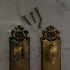 Antigüedades: TIRADORES ARMARIO. Lote 143884814