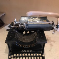 Antigüedades: YOST N 15 LIGHT RUNNING TYPEWRITER MADE IN USA. Lote 143889444