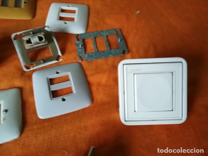 Antigüedades: Antiguo material electrico BJC. Años 60. - Foto 6 - 143892834