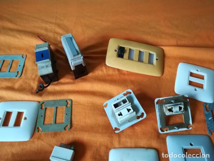 Antigüedades: Antiguo material electrico BJC. Años 60. - Foto 7 - 143892834