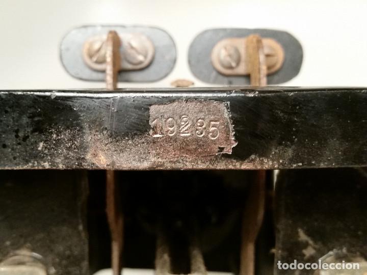 Antigüedades: maquina de escribir AEG Mignon No.2, año 1.910, funciona, ver video - Foto 2 - 143896818
