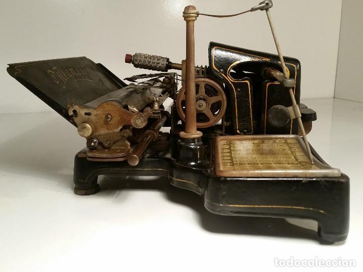 Antigüedades: maquina de escribir AEG Mignon No.2, año 1.910, funciona, ver video - Foto 10 - 143896818