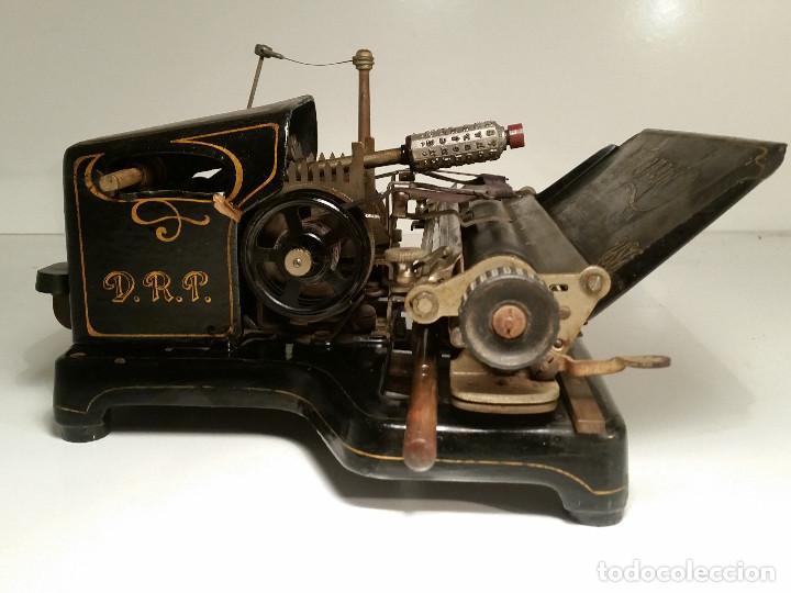 Antigüedades: maquina de escribir AEG Mignon No.2, año 1.910, funciona, ver video - Foto 13 - 143896818