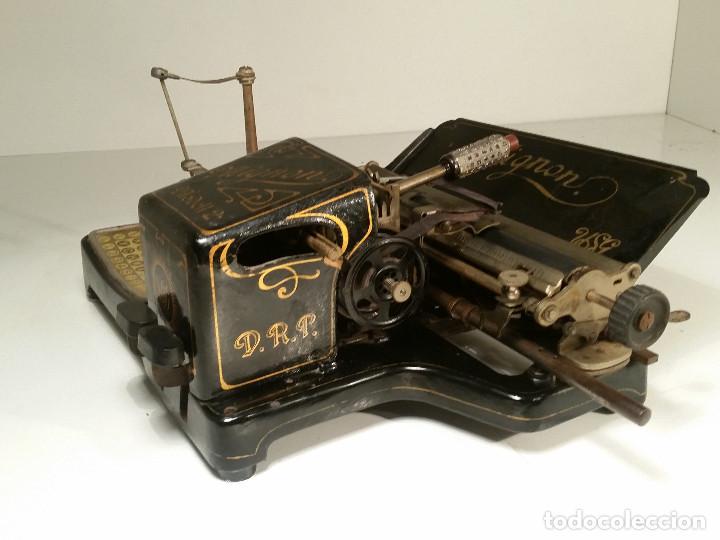 Antigüedades: maquina de escribir AEG Mignon No.2, año 1.910, funciona, ver video - Foto 14 - 143896818