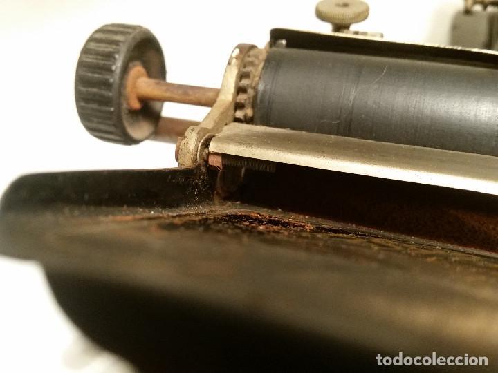 Antigüedades: maquina de escribir AEG Mignon No.2, año 1.910, funciona, ver video - Foto 16 - 143896818