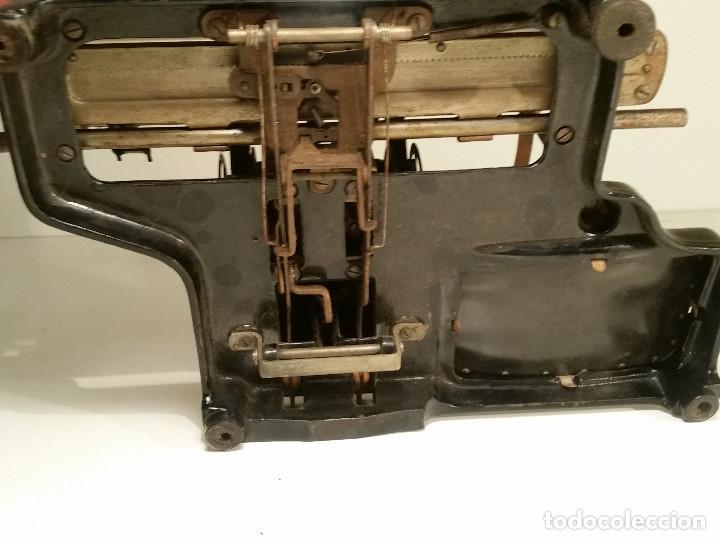 Antigüedades: maquina de escribir AEG Mignon No.2, año 1.910, funciona, ver video - Foto 17 - 143896818