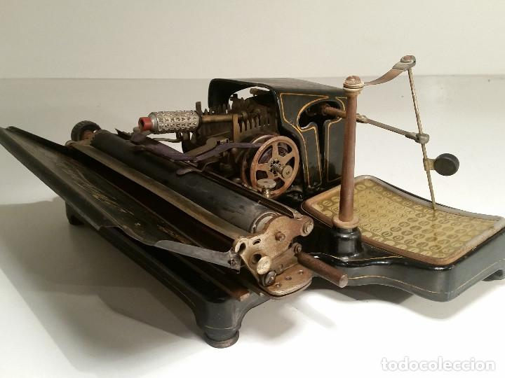 Antigüedades: maquina de escribir AEG Mignon No.2, año 1.910, funciona, ver video - Foto 19 - 143896818