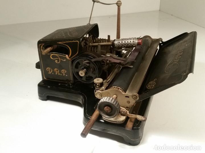 Antigüedades: maquina de escribir AEG Mignon No.2, año 1.910, funciona, ver video - Foto 20 - 143896818