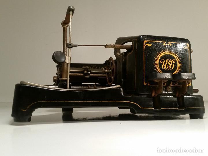 Antigüedades: maquina de escribir AEG Mignon No.2, año 1.910, funciona, ver video - Foto 21 - 143896818
