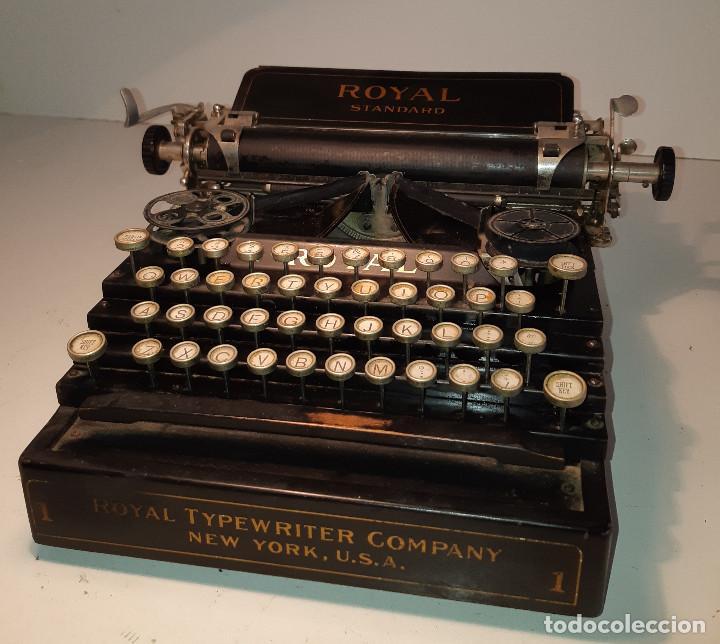 MAQUINA DE ESCRIBIR RARA - ROYAL STANDARD NO.1 (Antigüedades - Técnicas - Máquinas de Escribir Antiguas - Royal)