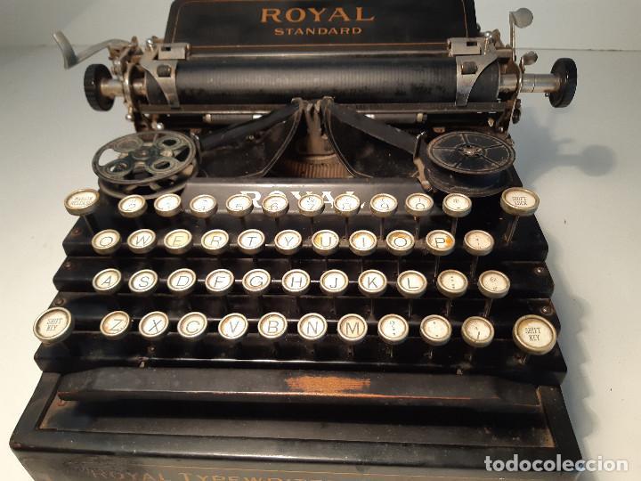Antigüedades: maquina de escribir rara - Royal Standard No.1 - Foto 2 - 143897650