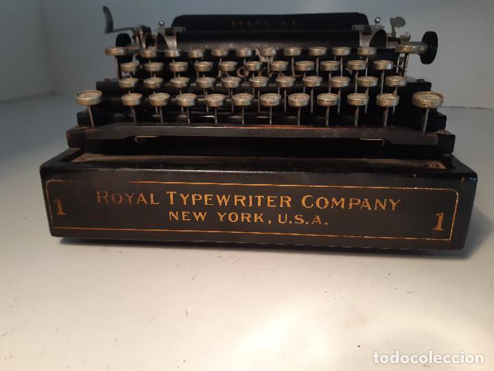 Antigüedades: maquina de escribir rara - Royal Standard No.1 - Foto 3 - 143897650
