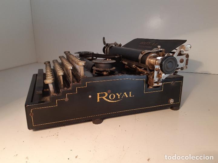 Antigüedades: maquina de escribir rara - Royal Standard No.1 - Foto 4 - 143897650