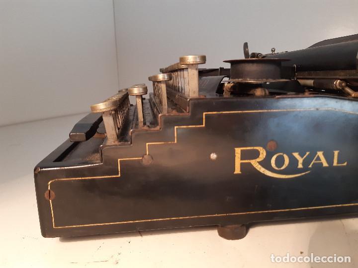 Antigüedades: maquina de escribir rara - Royal Standard No.1 - Foto 5 - 143897650