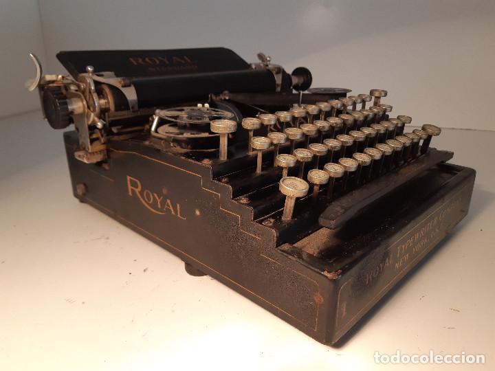Antigüedades: maquina de escribir rara - Royal Standard No.1 - Foto 6 - 143897650