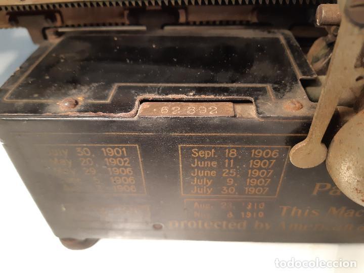 Antigüedades: maquina de escribir rara - Royal Standard No.1 - Foto 7 - 143897650