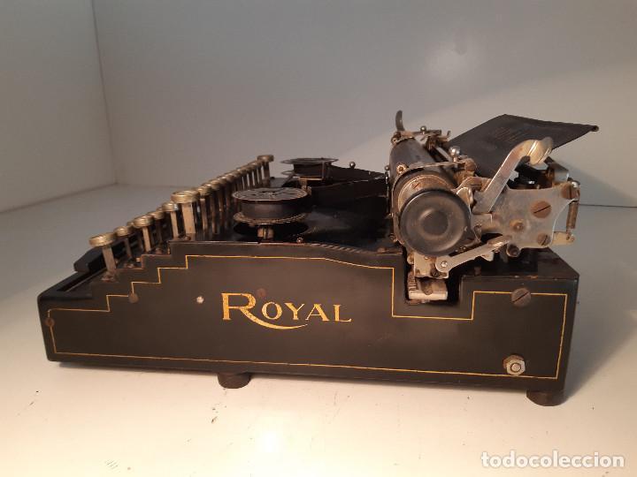 Antigüedades: maquina de escribir rara - Royal Standard No.1 - Foto 9 - 143897650
