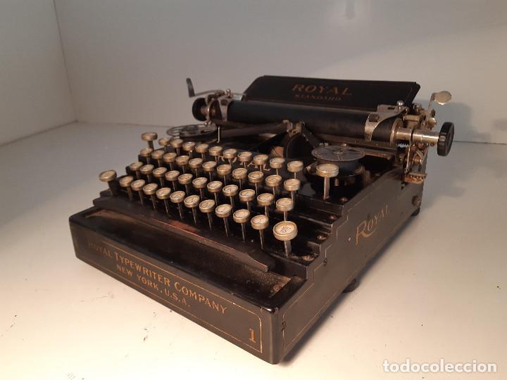 Antigüedades: maquina de escribir rara - Royal Standard No.1 - Foto 10 - 143897650