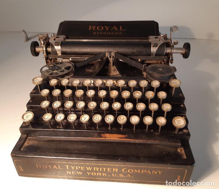 Antigüedades: maquina de escribir rara - Royal Standard No.1 - Foto 11 - 143897650
