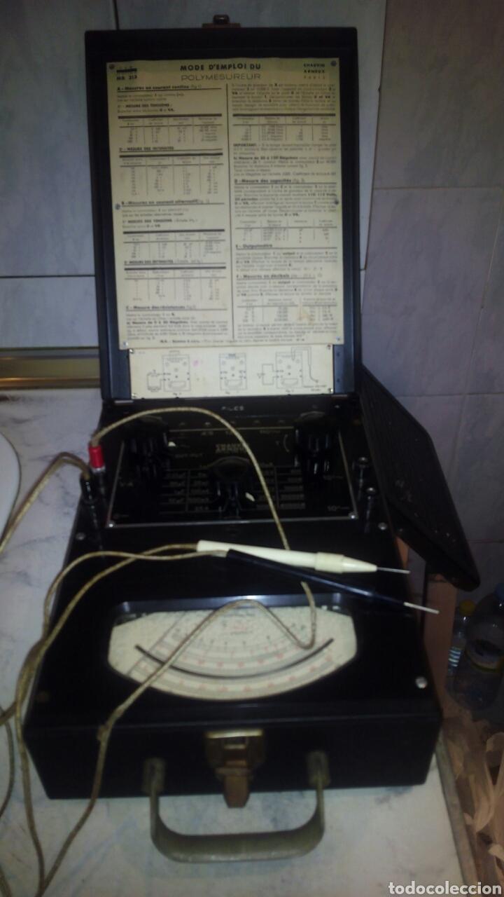 Antigüedades: Antiguo Multimetro ,Funciona.muy buen estado - Foto 2 - 143920481