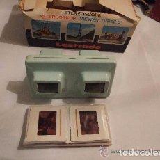 Antigüedades: ESTEREOSCOPIO LESTRADE FRANCIA AÑOS 1950. Lote 144002506